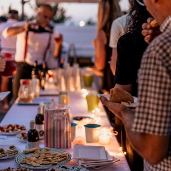 Evo oil tasting and typical products of Puglia