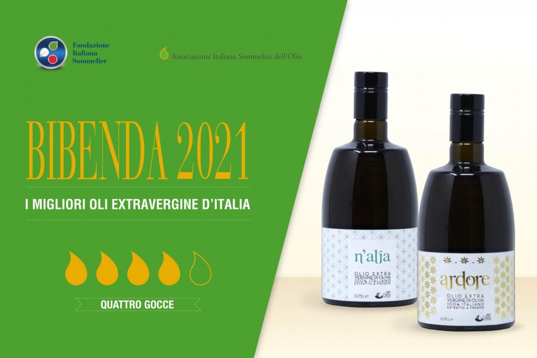 Bibenda 2021, 4 drops for Ardore and N'Alia