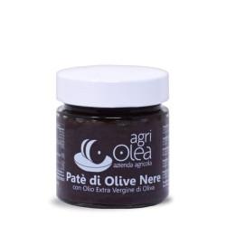 Black Olives Paté with Extra Virgin Olive Oil - 230 g jar
